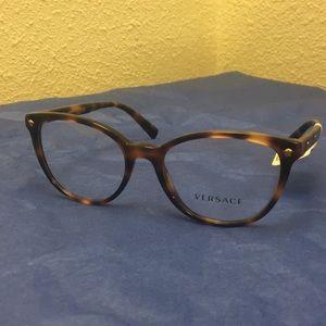 NEW Versace 3256 Eyeglasses 5264 Brown